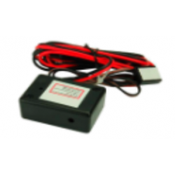 Touch-sensitive power switch for turning on and turning off radar detector Genevo