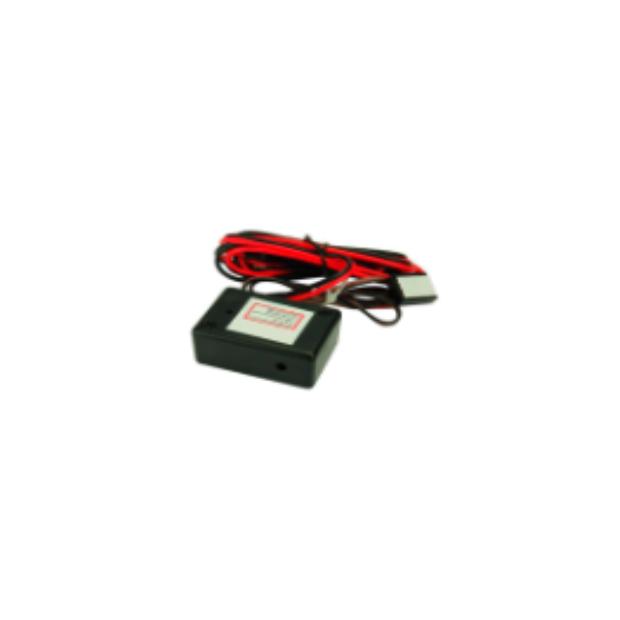 Interruptor de toque para ligar e desligar o detector de radares Genevo