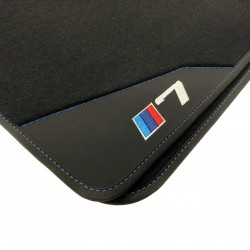 Floor mats, Leather BMW E65