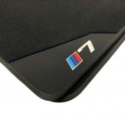Os tapetes de Couro BMW E65