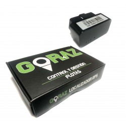 Goraz® Localizzatore GPS per auto OBD (senza servizi)