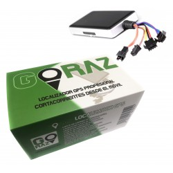 Goraz® Localizador GPS para coche con cortacorrientes electrónico
