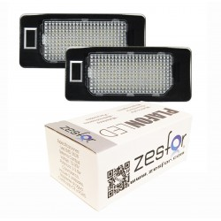 Painéis LED de matrícula Audi A4 B8 (2009-2014)