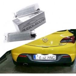 Wand-und deckenlampen LED-kennzeichenhalter Opel Astra J (2009-2016)