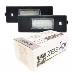 Luzes de matricula diodo EMISSOR de luz BMW Série 6 E64, 2 portas conversível (2004-2010)