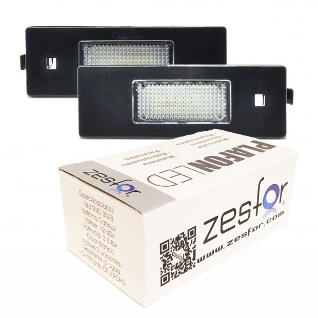 Luces matricula LED BMW Z4 E85 coupe y cabrio (2004-2008)