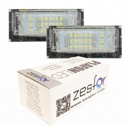 Luces matricula LED BMW Serie 3 E46, 4 puertas (1998-2005)