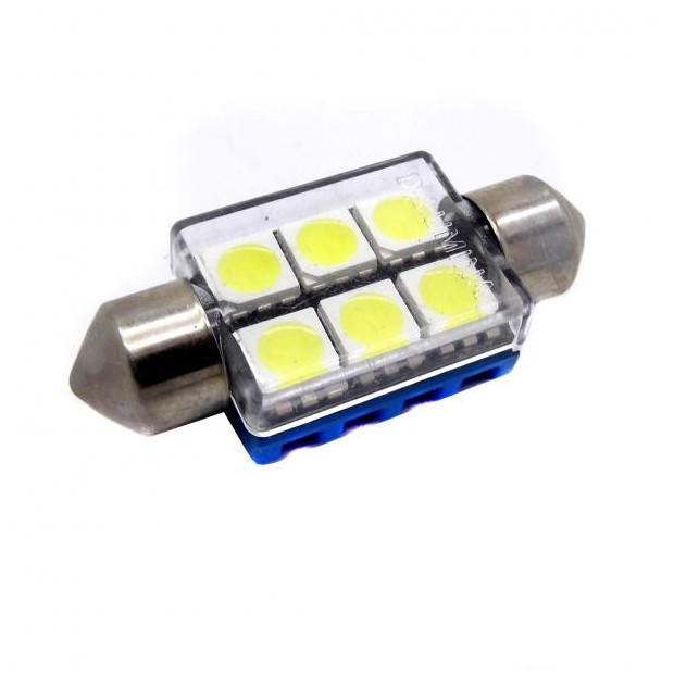 Bulbo claro do diodo EMISSOR de luz CANBUS c5w / festoon 36 mm - Tipo 47