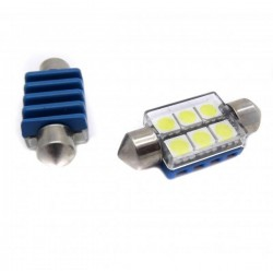 ZesfOr® Bombilla LED Festoon Can Bus 36 mm Chipset - Tipo 47