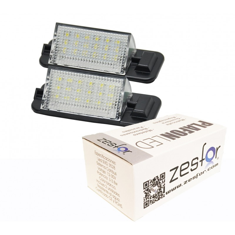 Luces matricula LED BMW Serie 3 E36 (1992-1998)