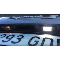 Luzes de matricula diodo EMISSOR de luz Citroen C2, 3 portas hatchback
