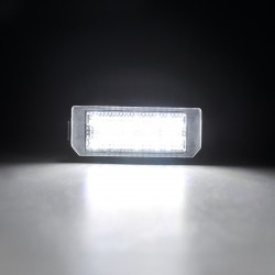Luzes de matricula diodo EMISSOR de luz Citroen C3, 5 portas pluriel (04-09)