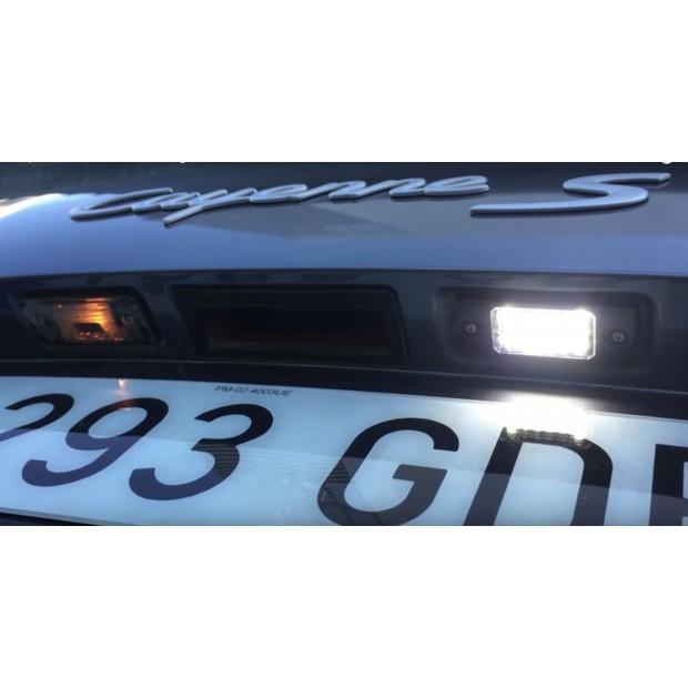 Luzes de matricula diodo EMISSOR de luz Citroen C8, 4 portas