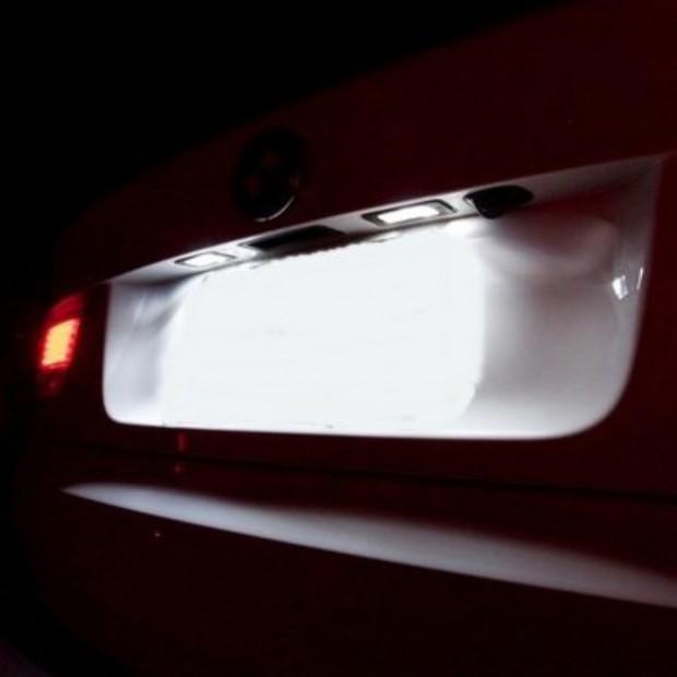 Luces matricula LED Citroen C3 II 5 puertas hatchback (2009-actualidad)