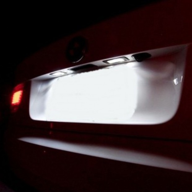 Luces matricula LED Citroen C5, 4 puertas sedan (01-08)