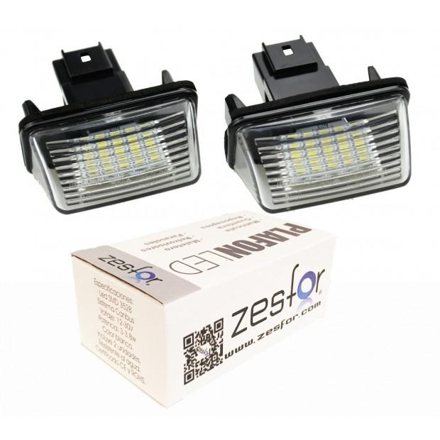 Luzes de matricula diodo EMISSOR de luz Citroen Xsara 5 portas hatchback