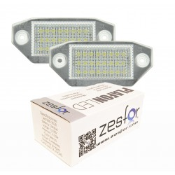 Luces matricula LED Ford Mondeo MKIII 4 y 5 puertas (2000-2007)