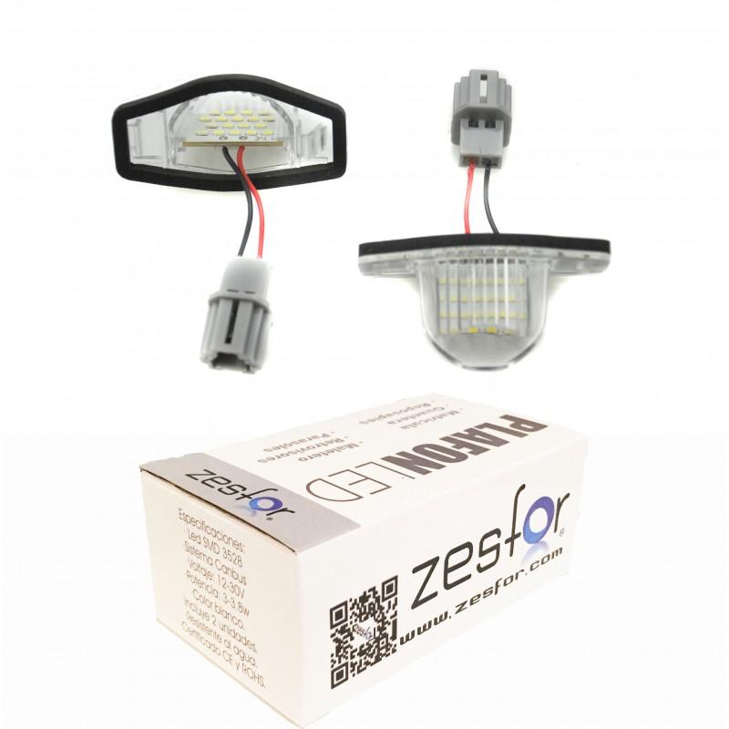Luzes de matricula diodo EMISSOR de luz Honda FR-V (05-09)