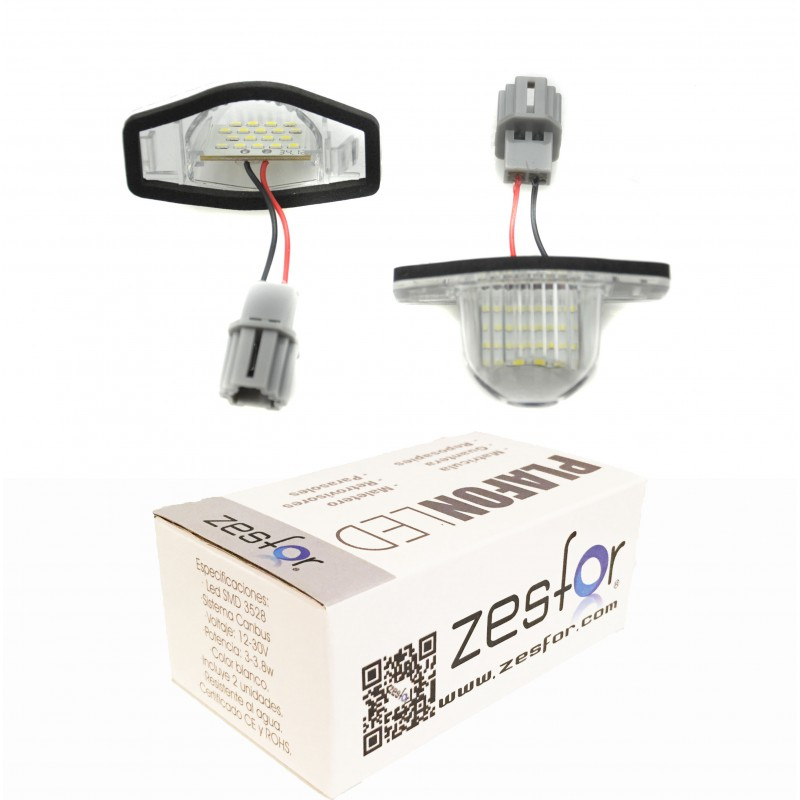 Lichter LED-kennzeichenhalter Honda HR-V (99-06)