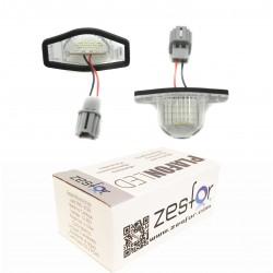 Lichter LED-kennzeichenhalter Honda Jazz (02-14)