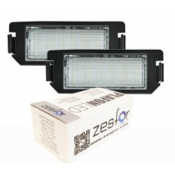 Luces matricula LED Kia Rio III UB 11-15