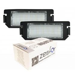 Luzes de matricula diodo EMISSOR de luz Kia Picanto TA 11-15