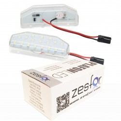 Luces matricula LED Mazda 6 2007-2011