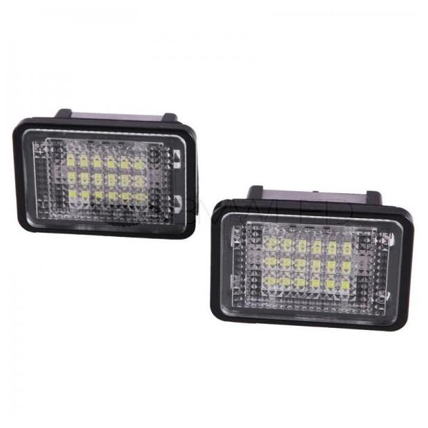 Plafones LED de matrícula Mercedes Benz GLK X204 (2007-2013)