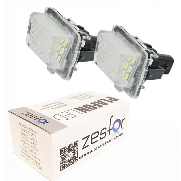 Luci lezioni LED Mercedes Classe E W212 a 4 e 5 porte Restyling (con lampadine a led di serie)