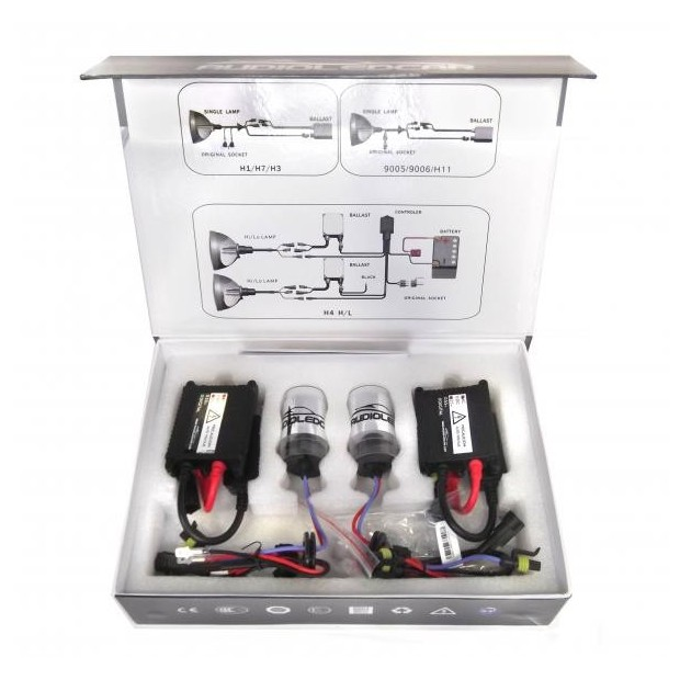 Kit xenon HIR2 9012 6000k Typ-2-SLIM