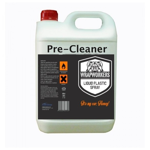 Pre-cleaner for vinyl liquid (5 litres)