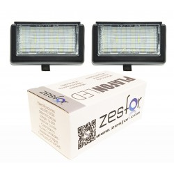 Luces matricula LED Mercedes ML W164 y X164 (2005-2012)