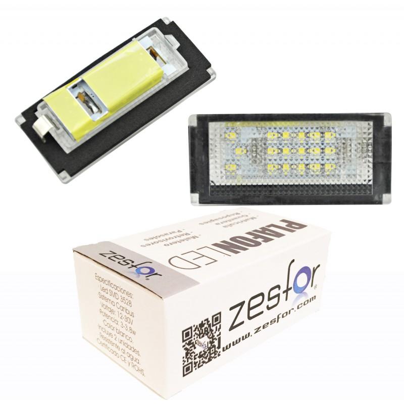 Luces matricula LED Mini R53 cooper (2001-2006)
