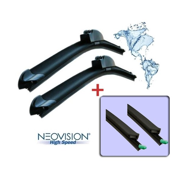 Kit wiper blades for Seat