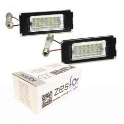 Luces matricula LED Mini R57 descapotable (2009-actualidad)