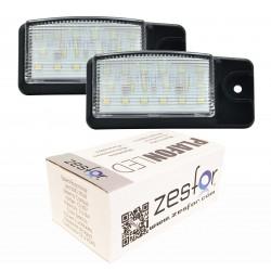 Luzes de matrícula diodo EMISSOR de luz para Nissan X-Trail (T32) (14-)