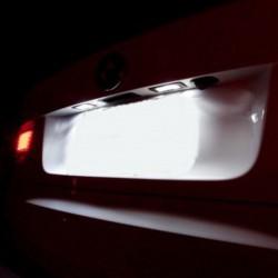 Luzes de matrícula diodo EMISSOR de luz para Nissan Navara (04-)