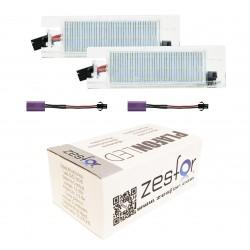 Lichter-kennzeichenhalter-LED-Opel Meriva A (03-10)