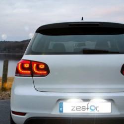 Luzes de matricula diodo EMISSOR de luz Opel Meriva (03-10)