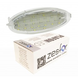 Luces matricula LED Opel Zafira A (98-09)