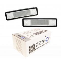 Luzes de matricula diodo EMISSOR de luz Opel Zafira(F15) 99-05