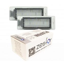 Luzes de matricula diodo EMISSOR de luz Opel Mokka (2012-presente)