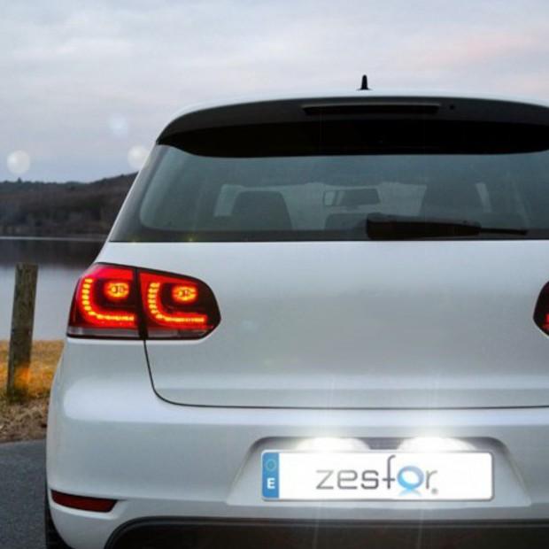 Luces matricula LED Peugeot 206, 3 y 5 puertas hatchback