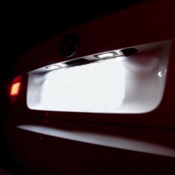 Luzes de matricula diodo EMISSOR de luz Peugeot 407, 5d sw(station wagon)