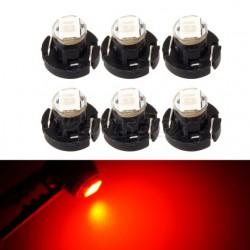 Bulbo claro do diodo EMISSOR de luz T4.2 VERMELHA Tipo 67