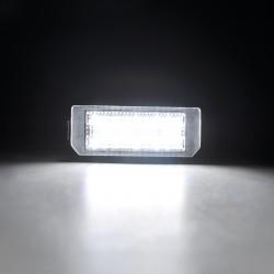Luces matricula LED Peugeot 407, 4 puertas