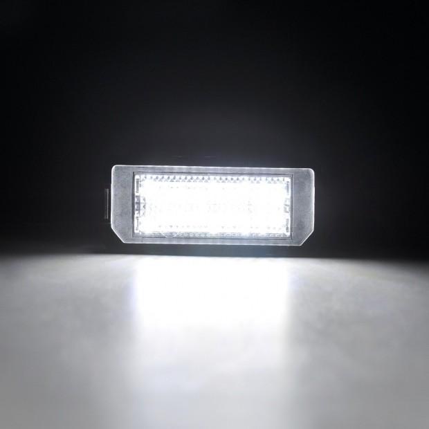 Lichter LED-kennzeichenhalter Peugeot 407, 4 tür