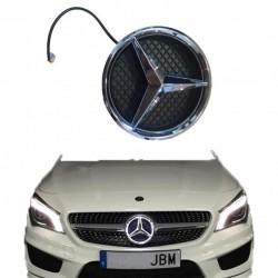 Estrella Mercedes Benz con iluminación LED