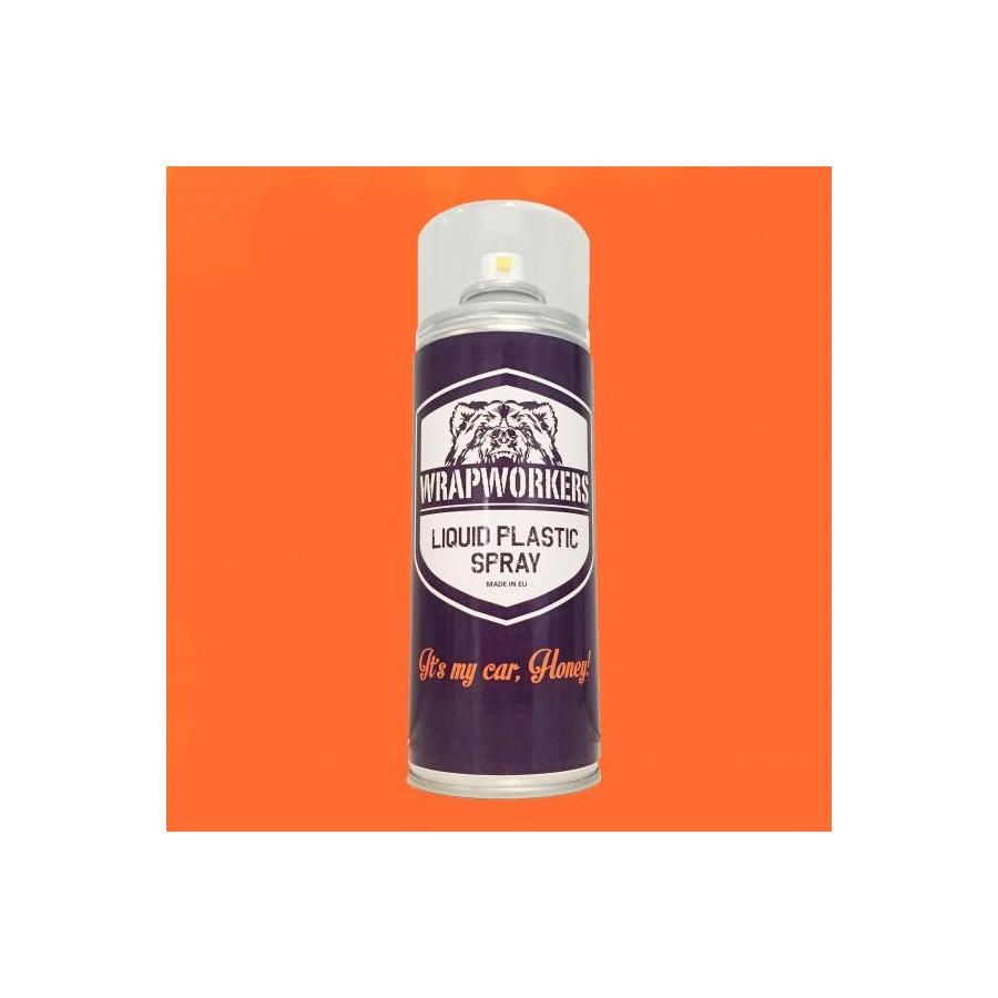Car Paint Detector >> Spray paint vinyl liquid ORANGE MATTE - AUDIOLEDCAR