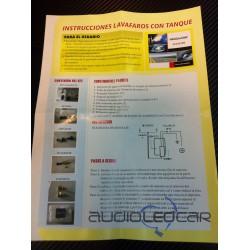 Kit Lavafaros Universal para coche y moto